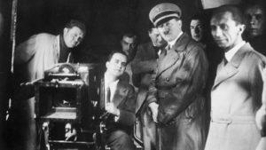 Hitler e Goebbels