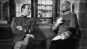 Pierre Fresnay ed Erich von Stroheim
