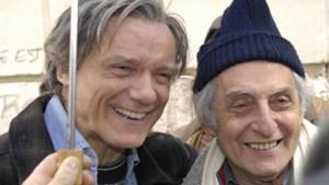 Massimo Ranieri e Citto Maselli sul se di Civico 0 (2007)