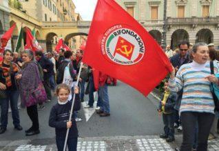 rifondazione comunista savona, foto di Marco Sferini