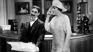 Groucho Marx e Margaret Domunt
