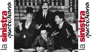 I Fratelli Marx con Irving Thalberg