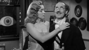 Marilyn Monroe e Groucho Marx