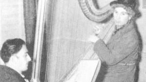 Salvador Dalì ritrae Harpo Marx