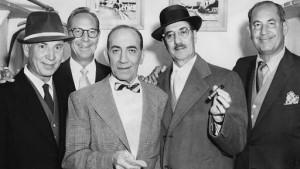 una delle ultime foto dei cinque Fratelli Marx
