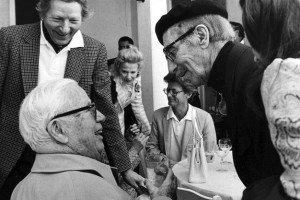 Charlie Chaplin e Groucho Marx