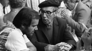 Jack Nicholson ascolta i consigli di Groucho Marx