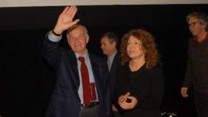 Fausto Bertinotti e Wilma Labate