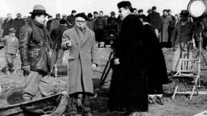 sul set di Don Camillo