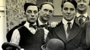 Buster Keaton e Charlie Chaplin