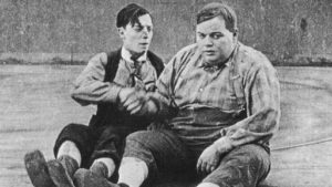 Buster Keaton e Fatty Arbuckle