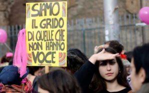 Non Una di Meno sciopera in 40 città