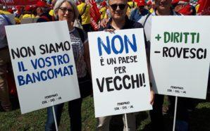 «Dateci retta», i pensionati riempiono San Giovanni