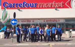 Carrefour licenzia 62 lavoratori via whatsapp