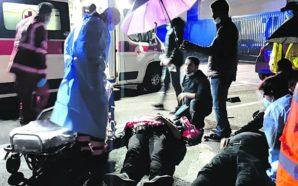 Botte a operai licenziati all'hub milanese di Tnt